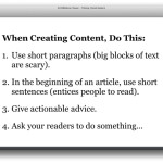 content creation tips [more like guidelines]